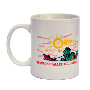 200-348 Ogopogo Coffee Mug- 4 colour